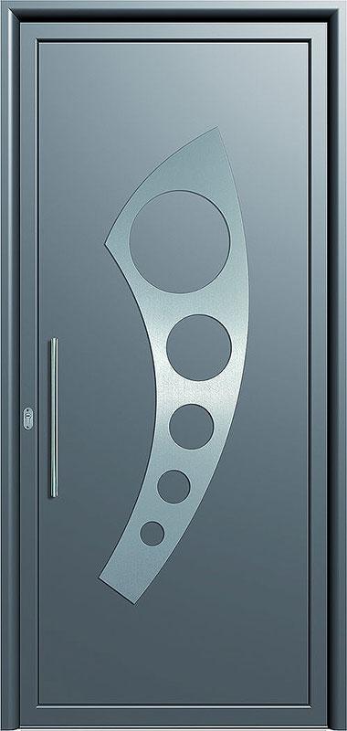 Πόρτα Εισόδου A-Inox140